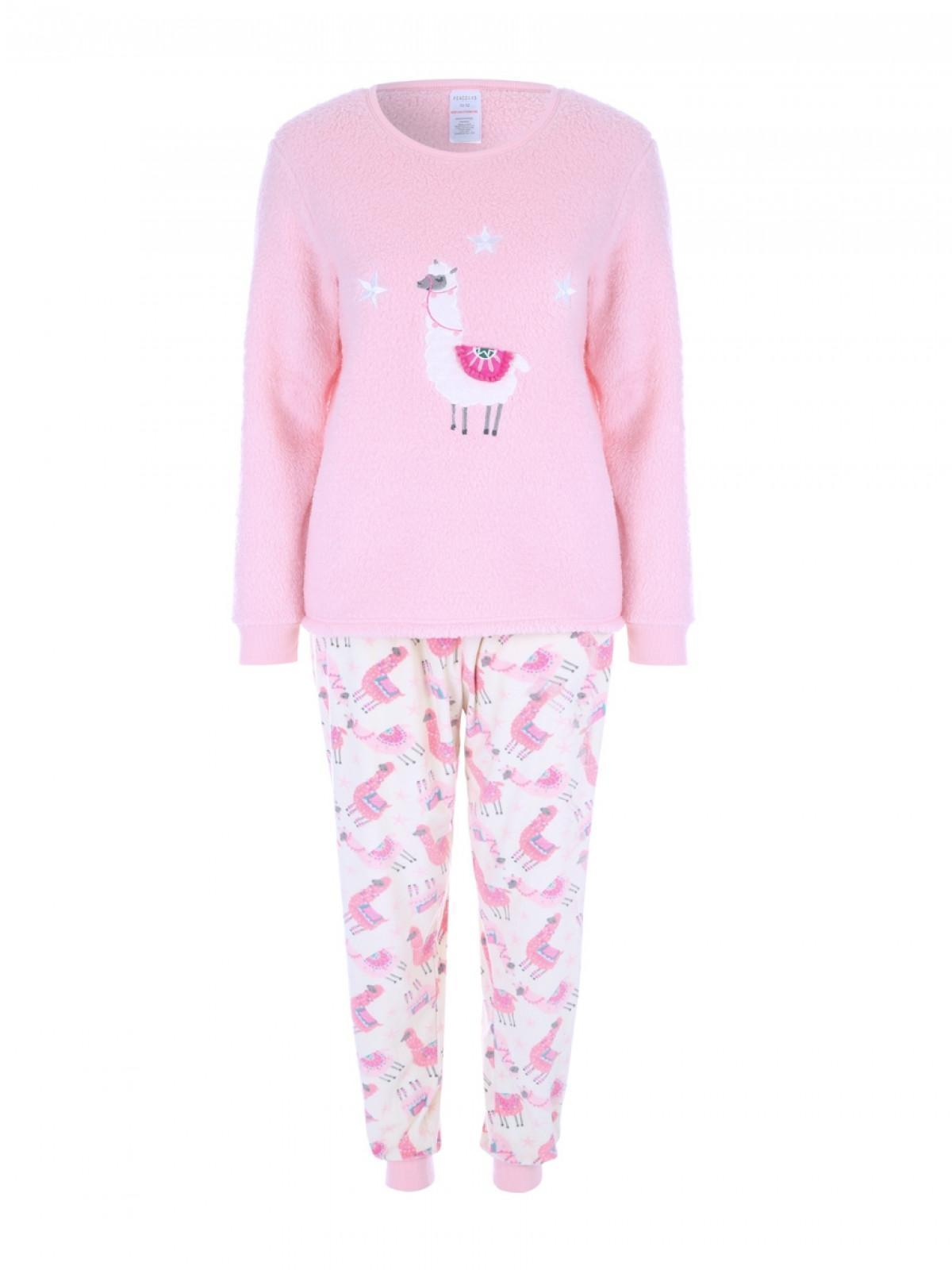 special selection of for sale on wholesale Womens Pink Llama Lounge Pyjamas   Peacocks
