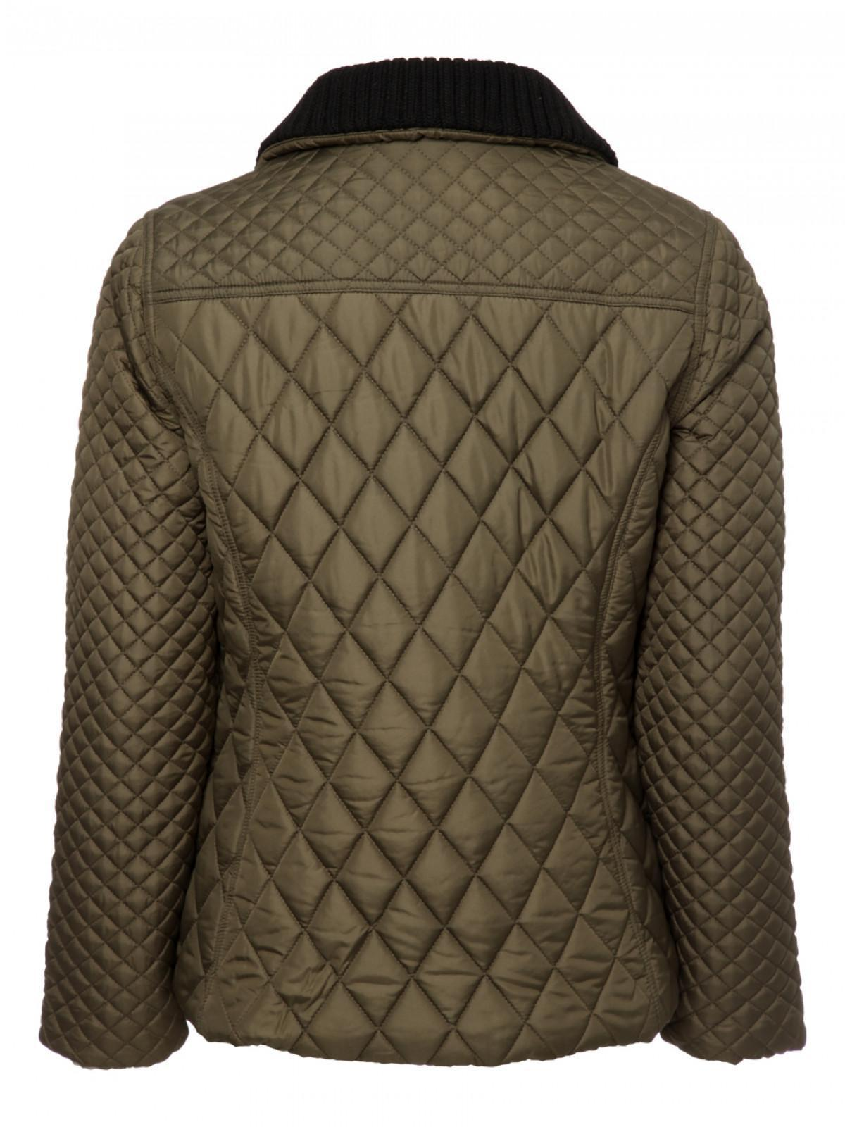 Womens Quilted Duffle Jacket Peacocks