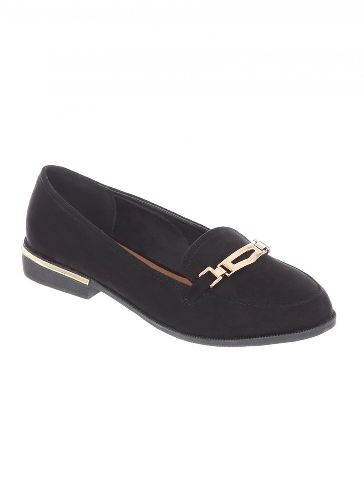 ladies svart wide fit loafers sale
