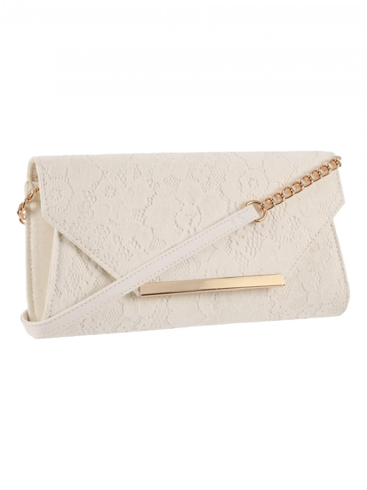 official supplier top-rated official best selection of Womens Ivory Lace Clutch Bag | Peacocks