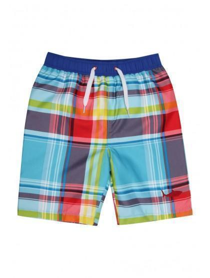 Younger Boys Checked Boardshort