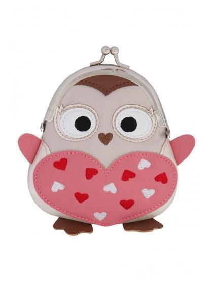 Womens Novelty Owl Purse