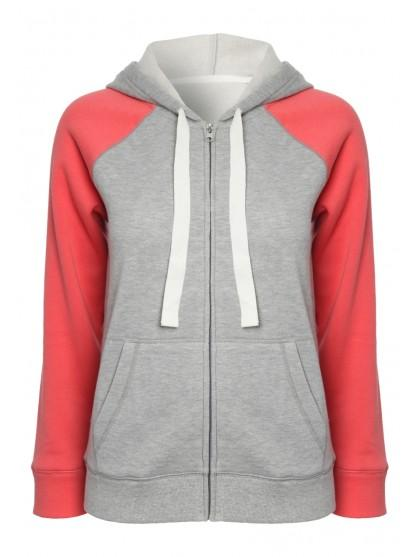 Womens Zip Up Hoody