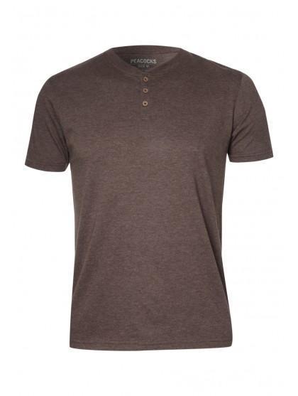Mens Button T-shirt