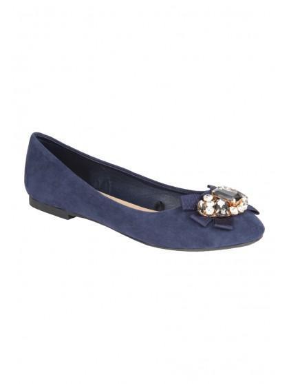 Womens Gem Ballet Shoe