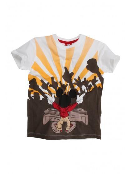 Older Boys Disney Dj Mickey Mouse T-shirt