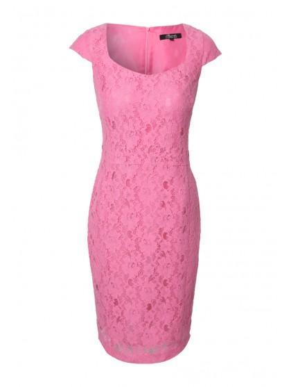 Womens Lace Pencil Dress