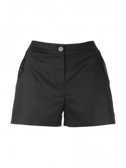 Womens Pleat Pocket Shorts