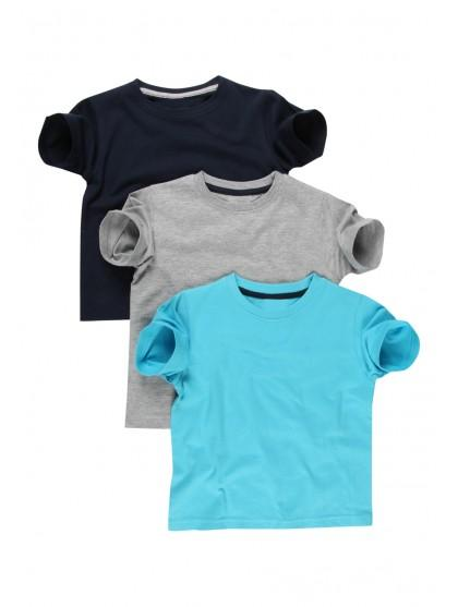 Younger Boys 3 Pack T-shirts