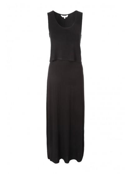 Womens Double Layer Maxi Dress