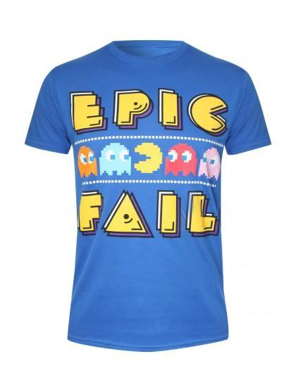 Mens Pac Man Print T-shirt