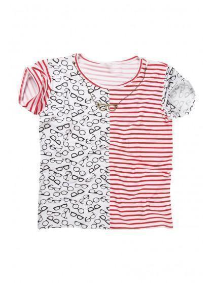 Older Girls Glasses T-shirt