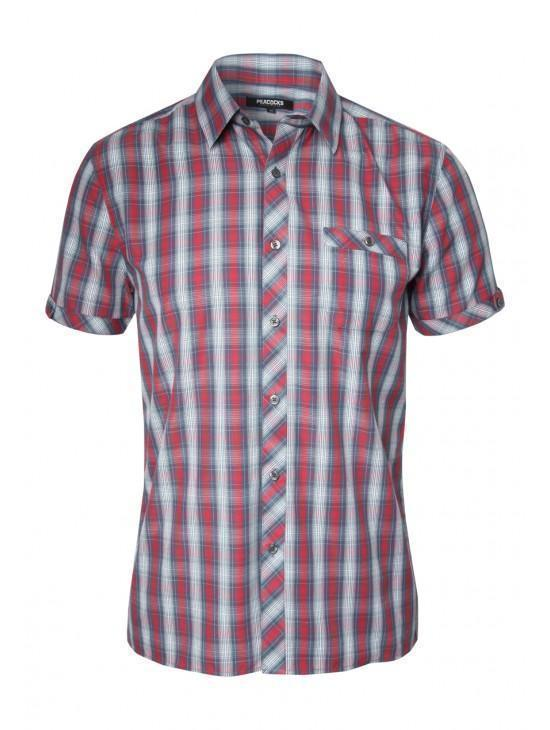 Mens Short Sleeve StripedShirt