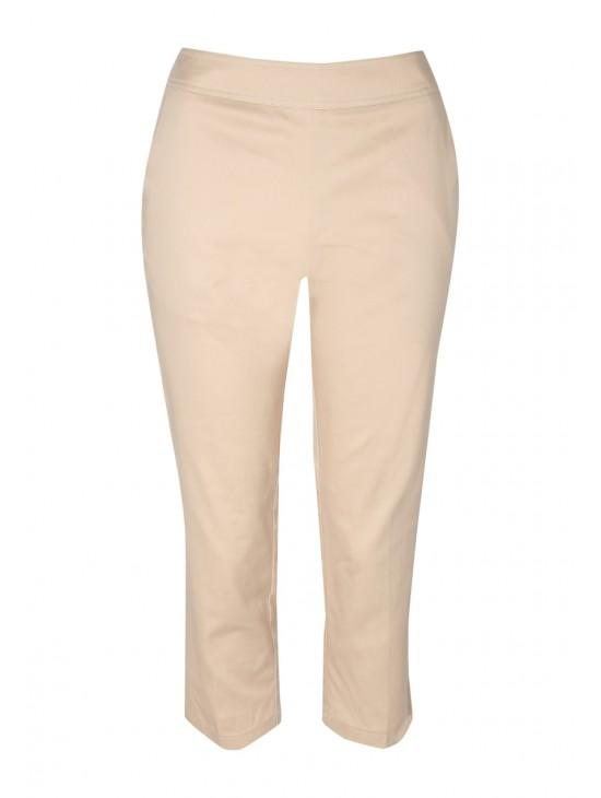 Womens Cropped Satin Trouser