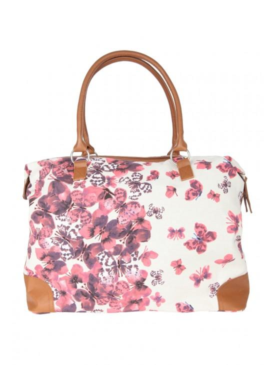 Womens Printed Luggage Bag