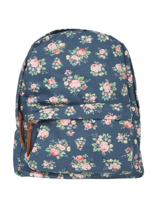 Womens Floral Rucksack