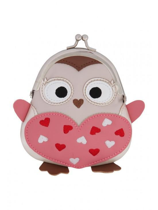 Womens Novelty Owl Purse