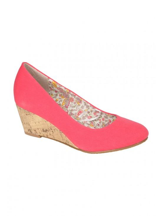 Womens Wedge Pump Shoe