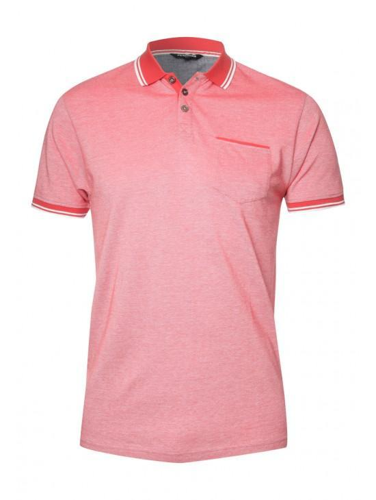 Mens Crossdyed Polo