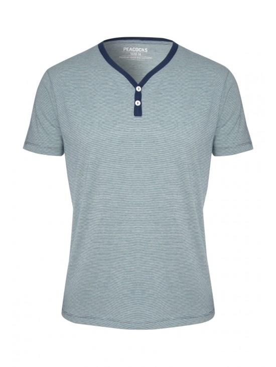 Mens Y-Neck T-Shirt