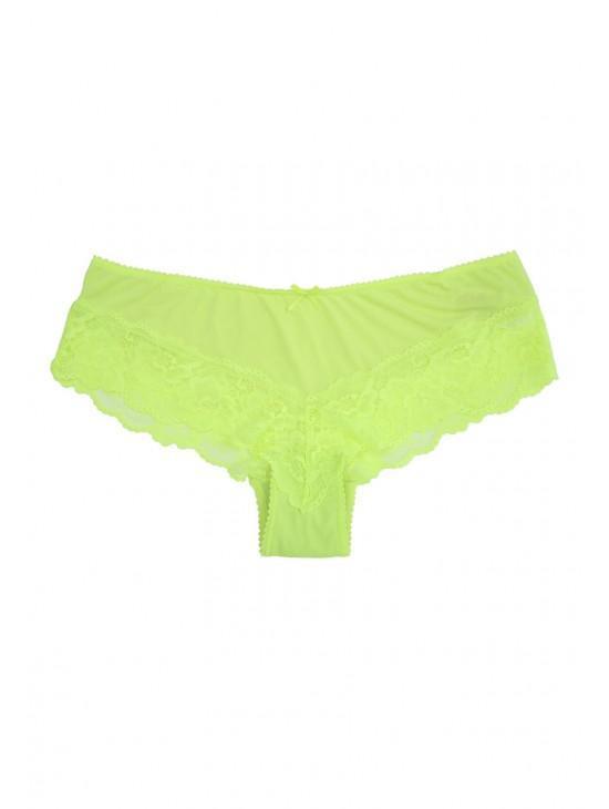 Womens Lime Green Micro Brazilian Briefs  7ce56ad28