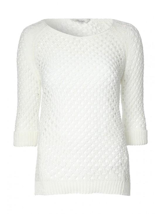 Womens Tape Mesh Jumper