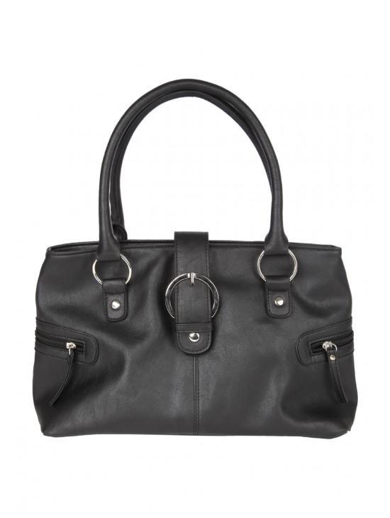 Womens Buckle Shoulder Bag