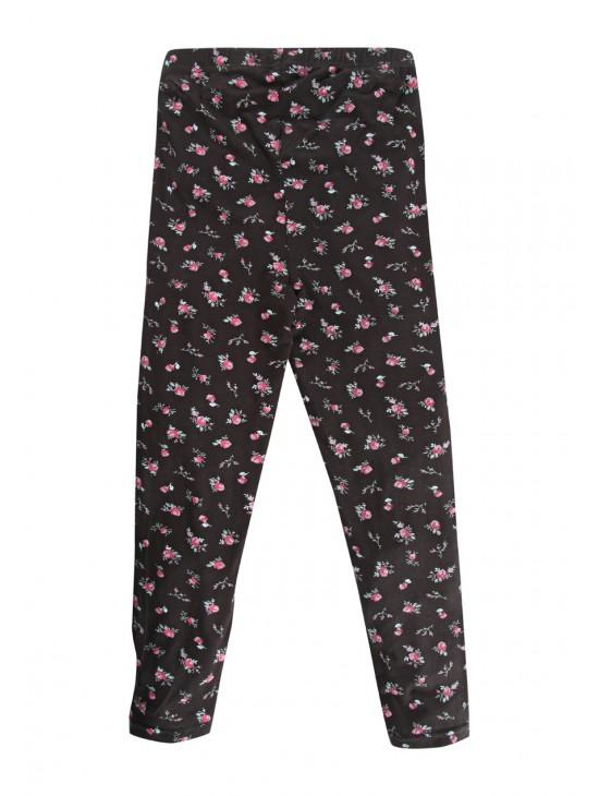 Older Girls Floral Print Leggings