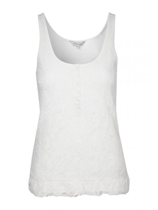 Womens Lace Front Vest
