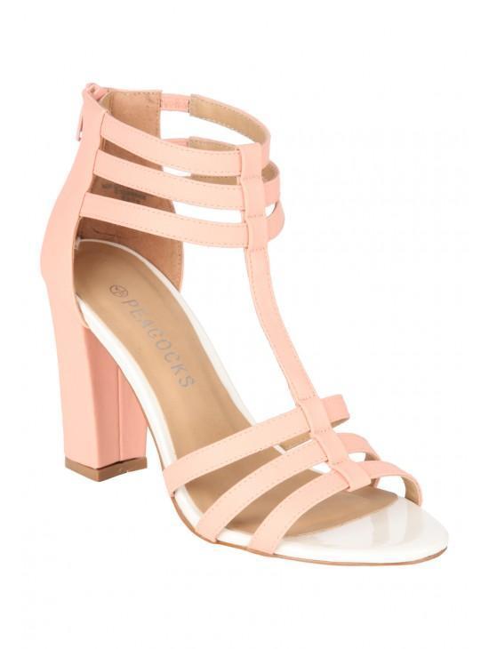 Womens Block Heel Shoe