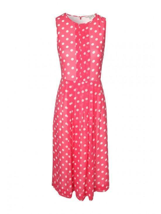 Womens Polka Dot Print Dress