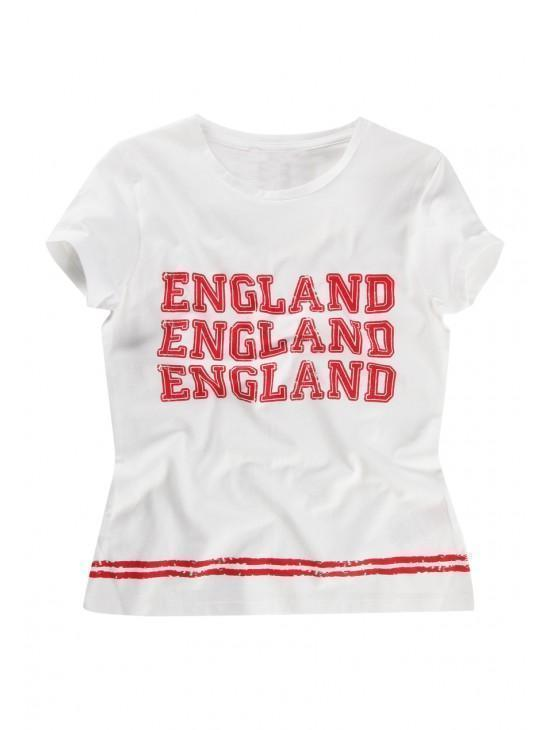 Older Girls England Print T-shirt