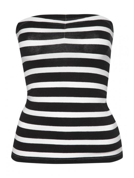 Womens Stripe Boobtube