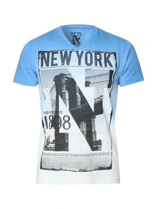 Mens Dip Dye New York T-shirt