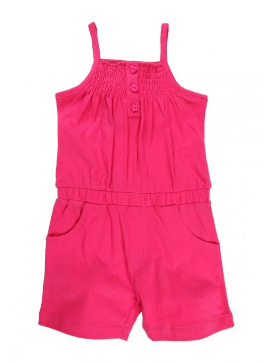 Younger Girls Jersey Playsuit
