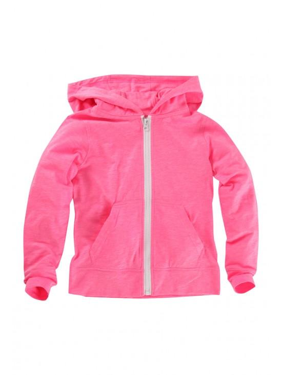 Older Girls Zip Up Hooded Sweater