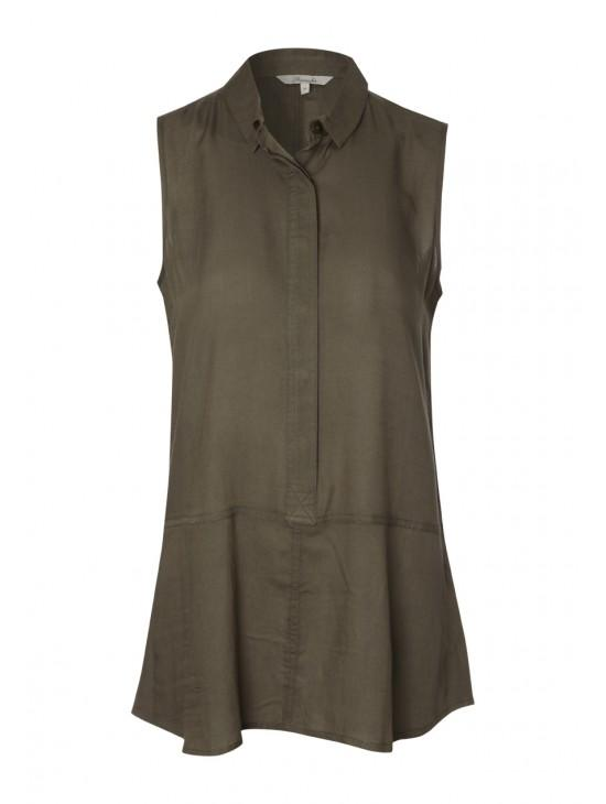 Womens Sleeveless Shirt