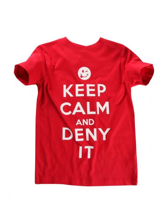 Older Boys 'Deny It' T-shirt