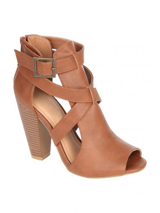 Womens Cutout Boot
