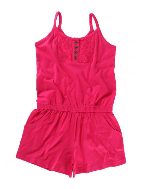 Older Girls Jersey Playsuit