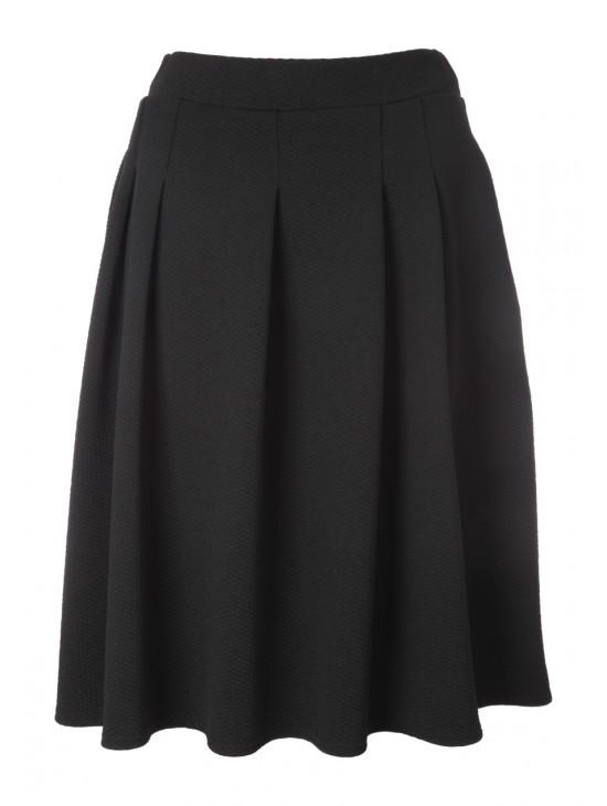 Womens Box Pleat Skirt
