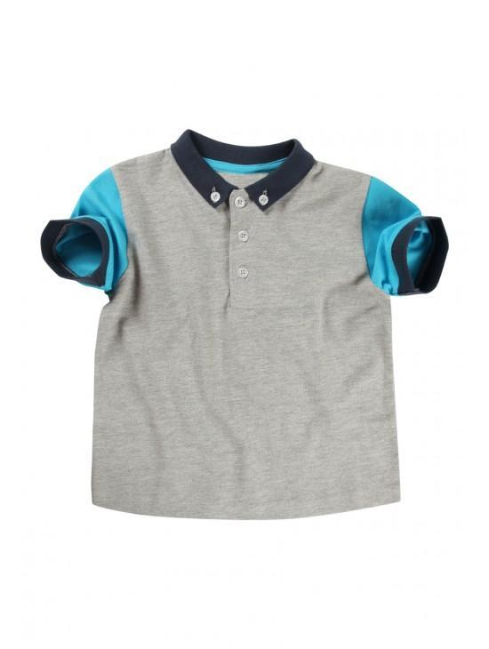 Younger Boys Patch Polo