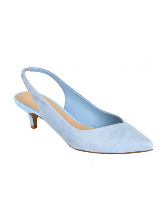 Womens Kitten Heel Slingback Shoes | Peacocks