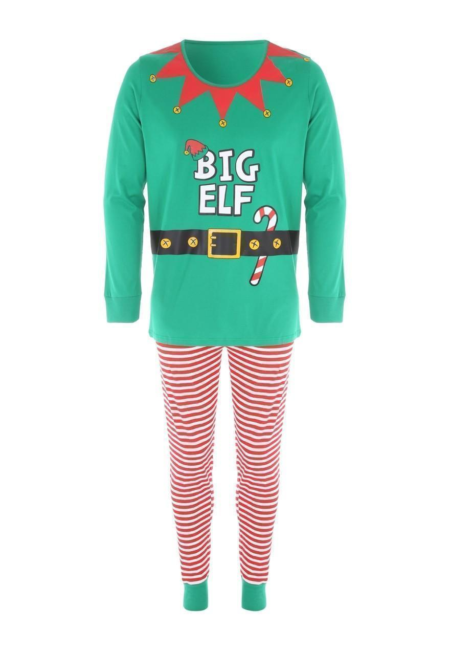 Mens Family Elf Pyjamas  96f28b720