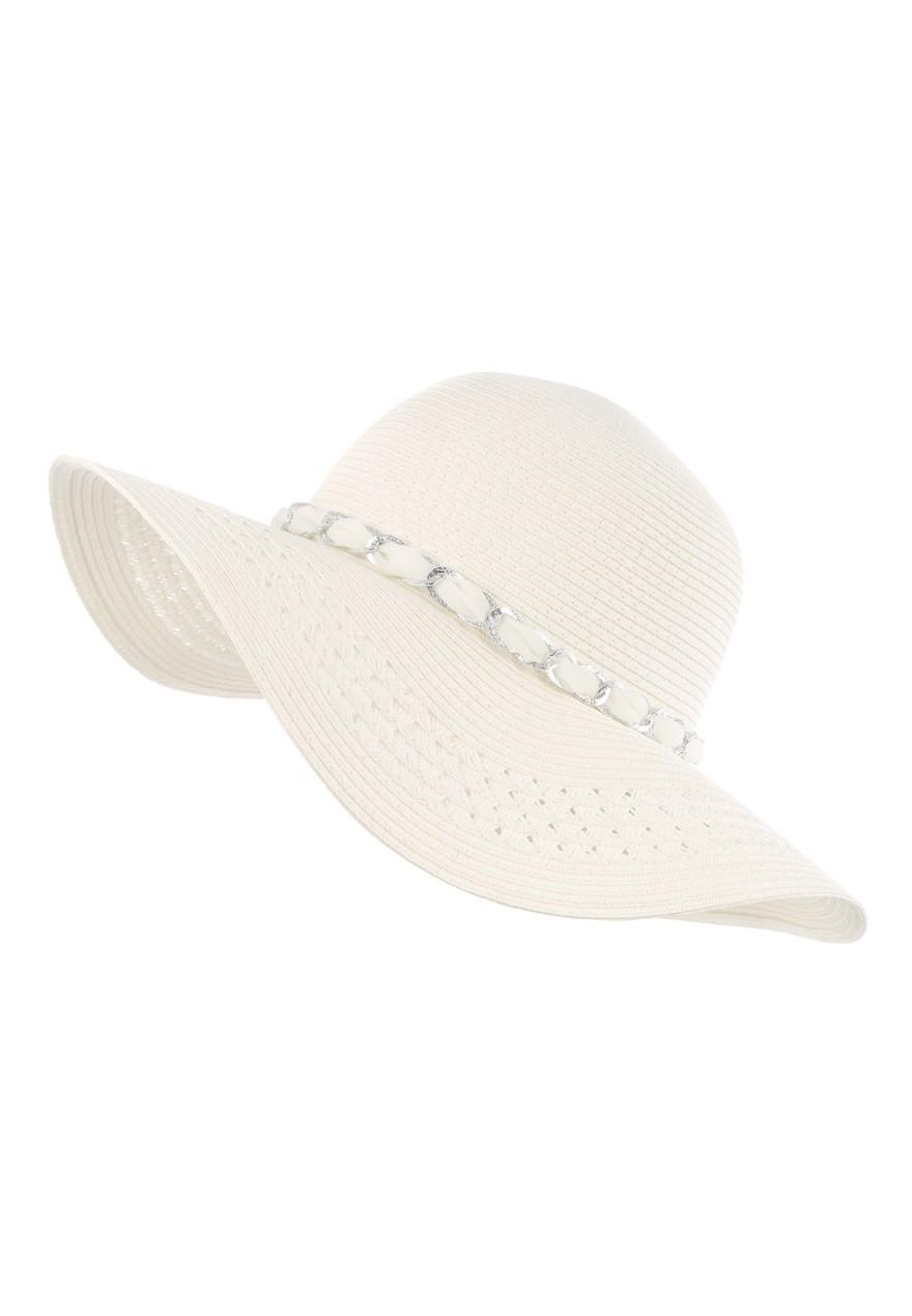 d62d5ec4 Womens White Chain Floppy Hat   Peacocks