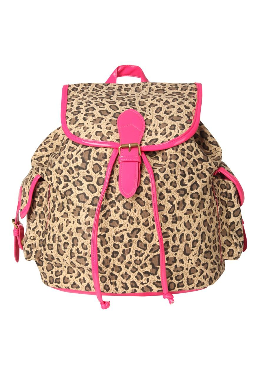 Girls Older Girls Animal Print Backpack | Peacocks
