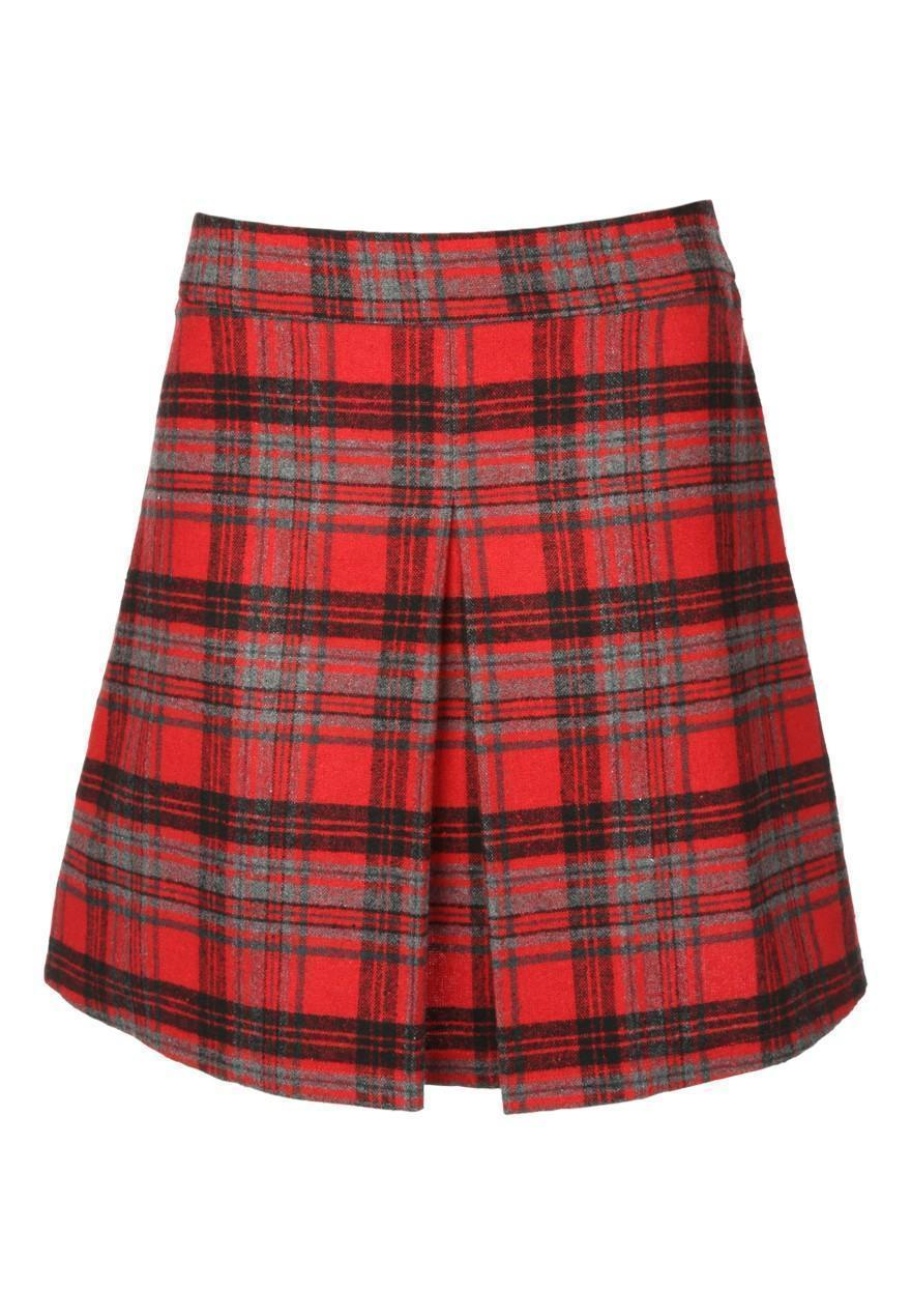 Lastest Journee Collection Women39s Aline High Waist Banded Skirt  14259553