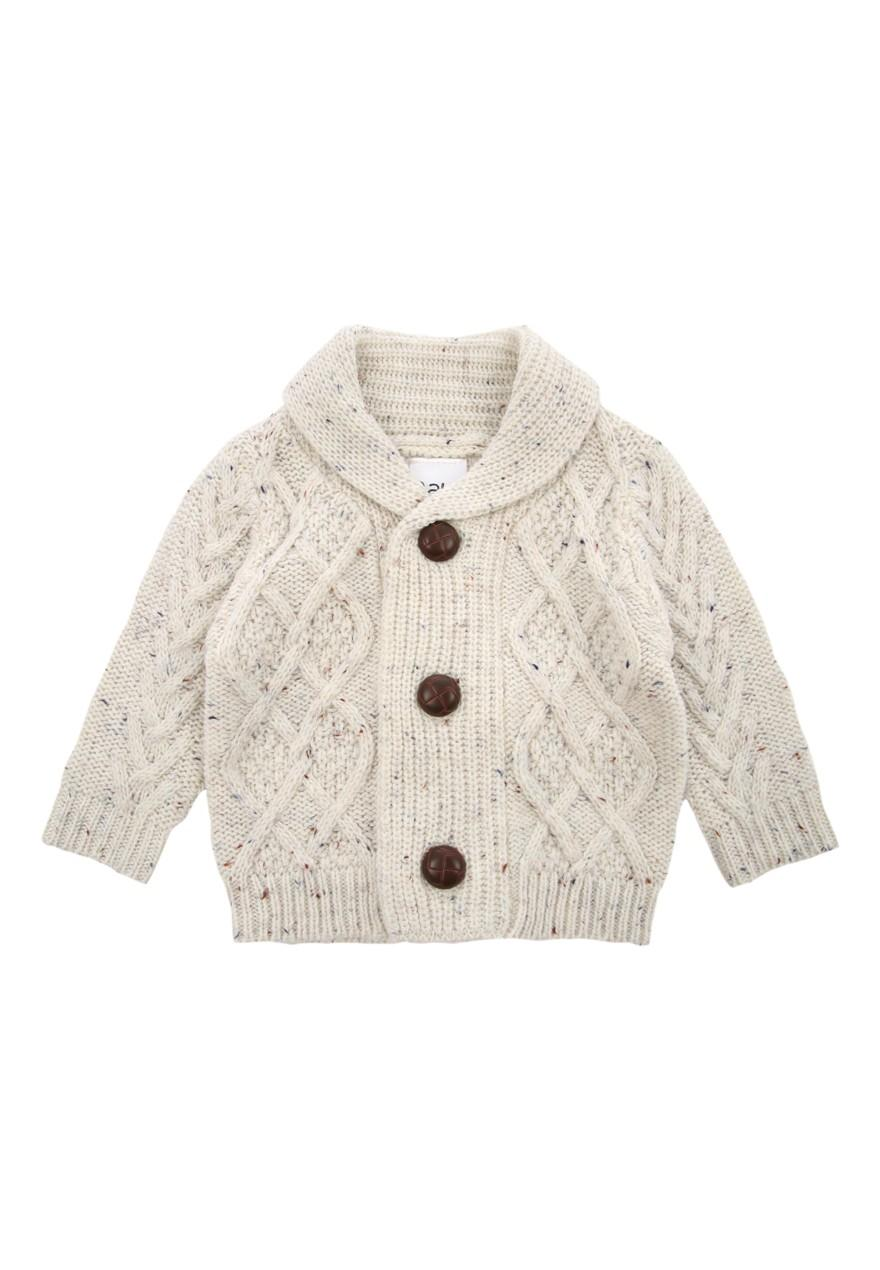 6a7268009 Boys aby Boy Cable Knit Cardigan | Peacocks