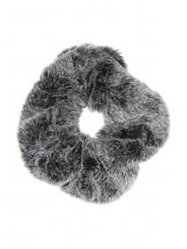 Womens Fur Hair Scrunchie
