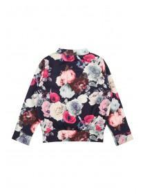Younger Girls Floral Bomber